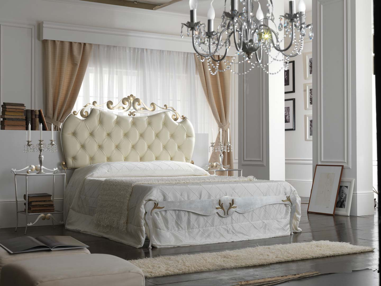 letto florentia bed, anita, letto argento
